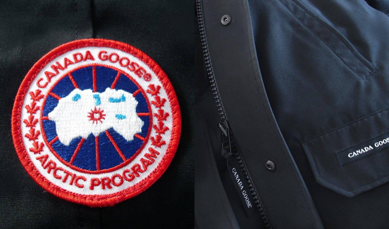 canada goose logo fake