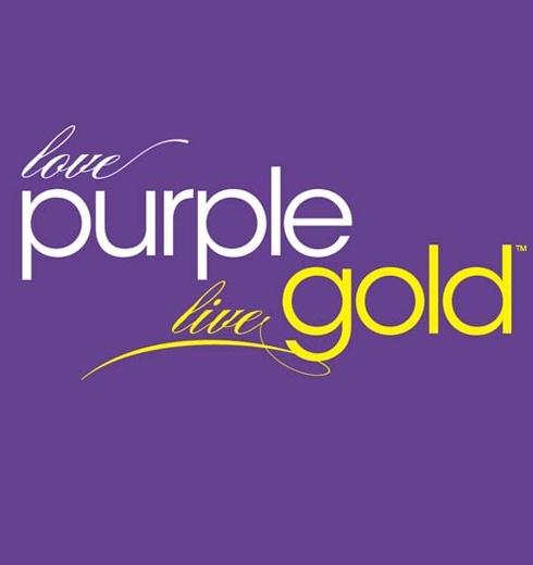 Love Purple Live Gold Logos Beauteous Live Gold Quotes