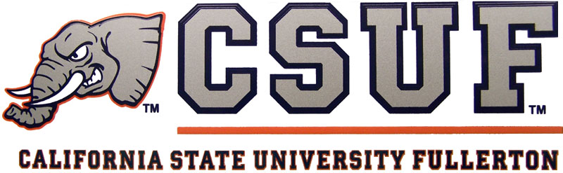 Cal state fullerton Logos on