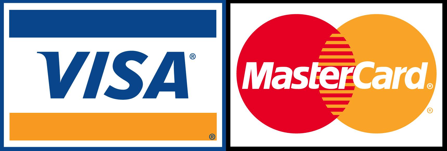 Visa master Logos
