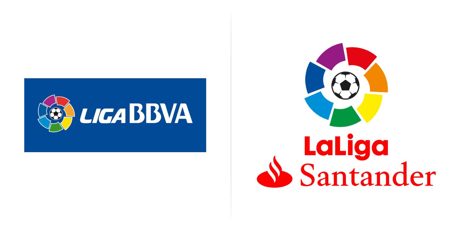 La Liga: Liga Santander Logos
