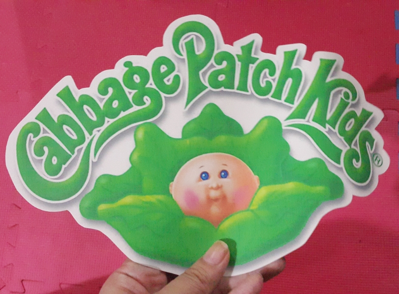 photograph about Cabbage Patch Logo Printable named Cabbage patch iron upon Trademarks