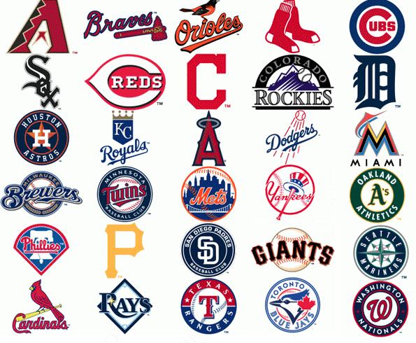 d806920e3ba Every baseball team Logos