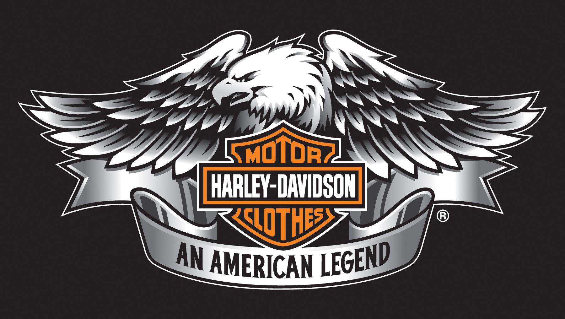 Harley Davidson Wings Logos