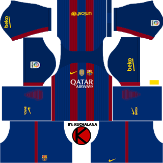 740799b83ab New Barcelona Kits 2016/2017, Dream League Soccer 2016 .
