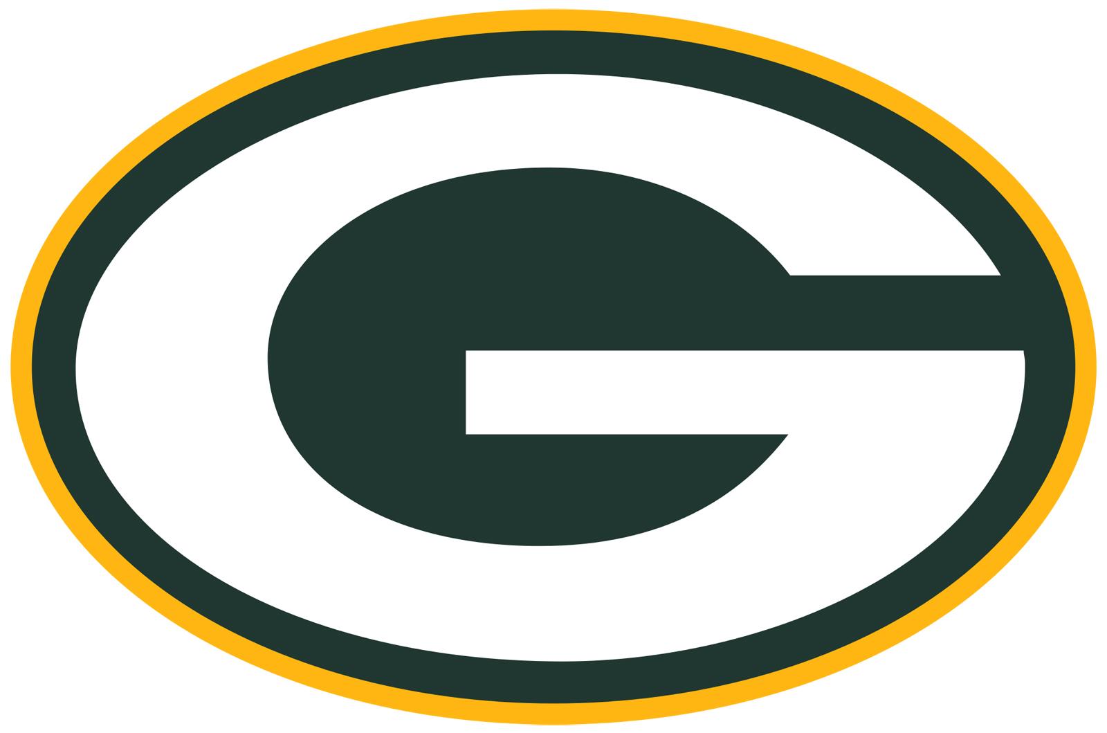 Green bay packers helmet Logos