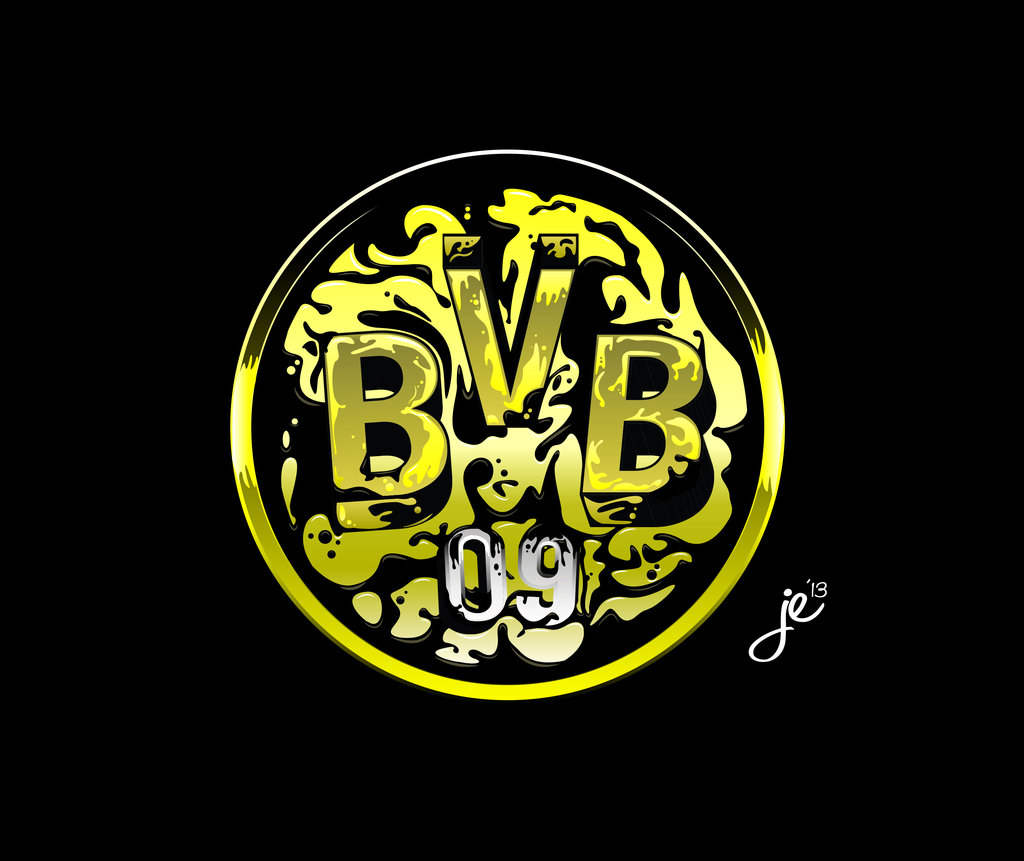 BVB 09 Borussia Dortmund Logo Vector By ZackBag On