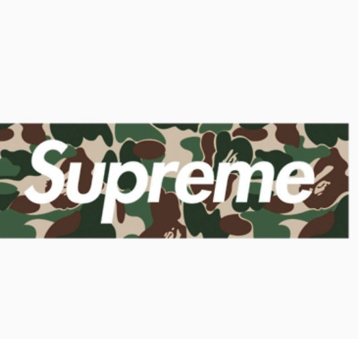 bffced106af7 Supreme x bape box Logos