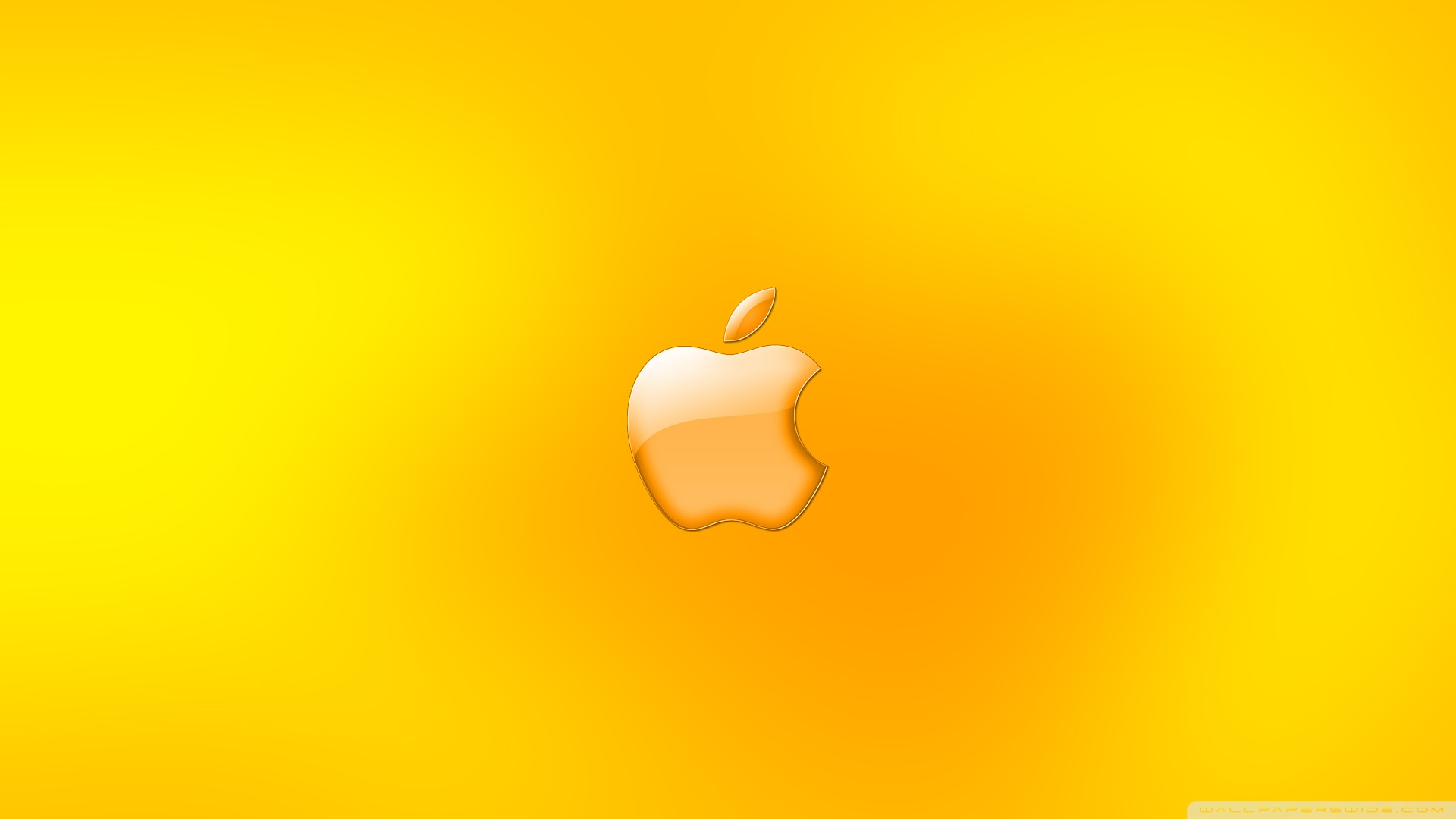 Gold Apple Logos