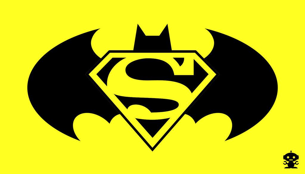 Batman Superman Logos