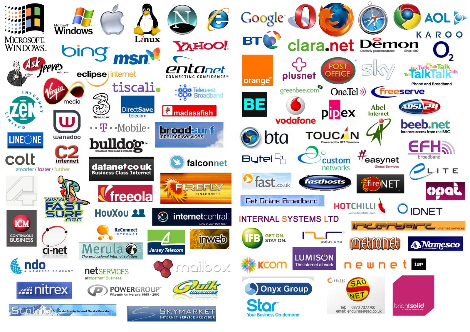 Your Blog - sugerencia de internet Internet Service Company Logos And Names