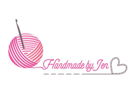 Crochet Logo Yarn Handmade Shop Knit