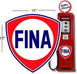 Fina gas Logos