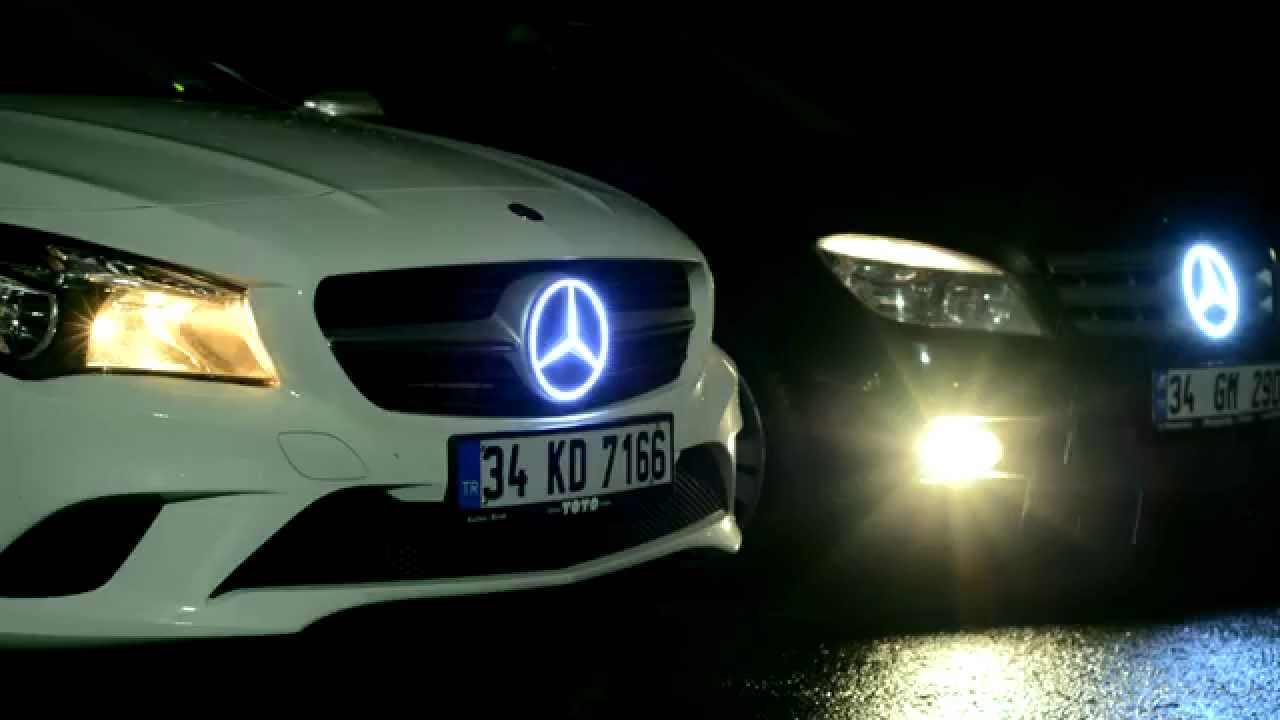 Mercedes Benz Front Lights