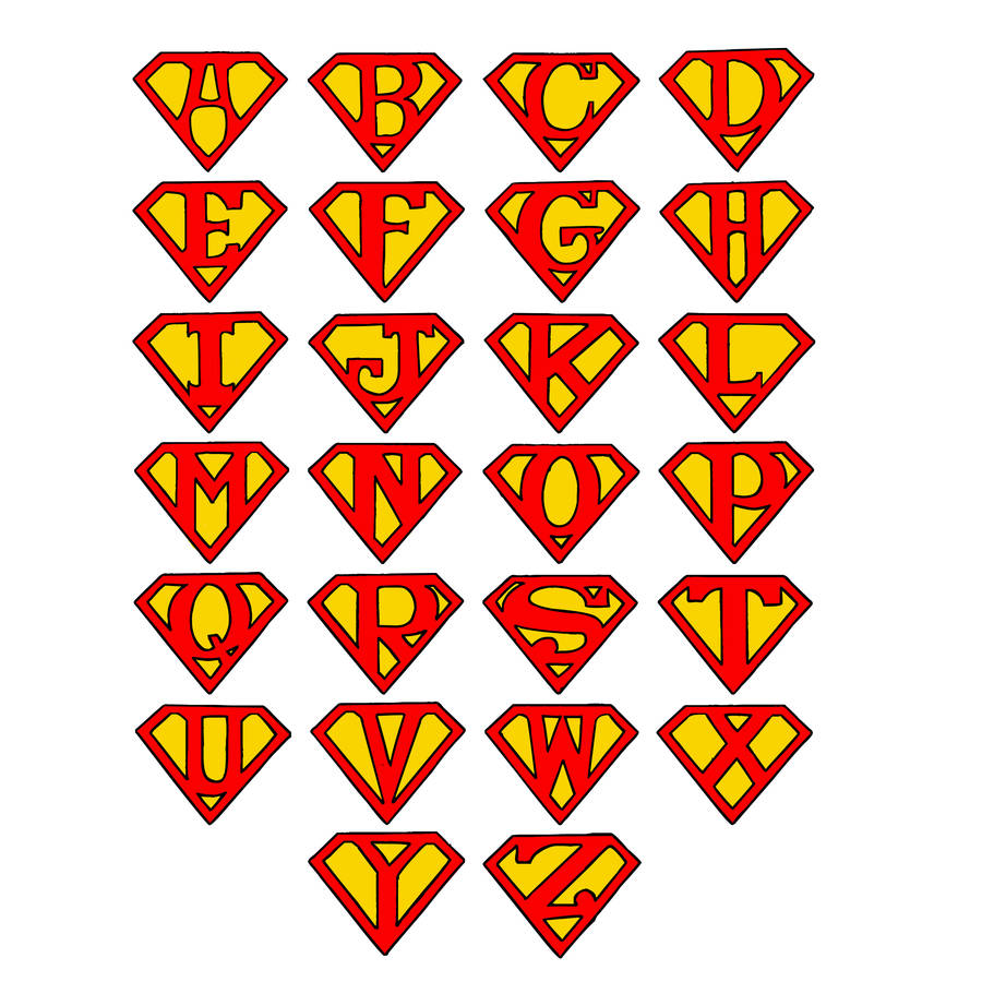 Create Your Own Superman Logos