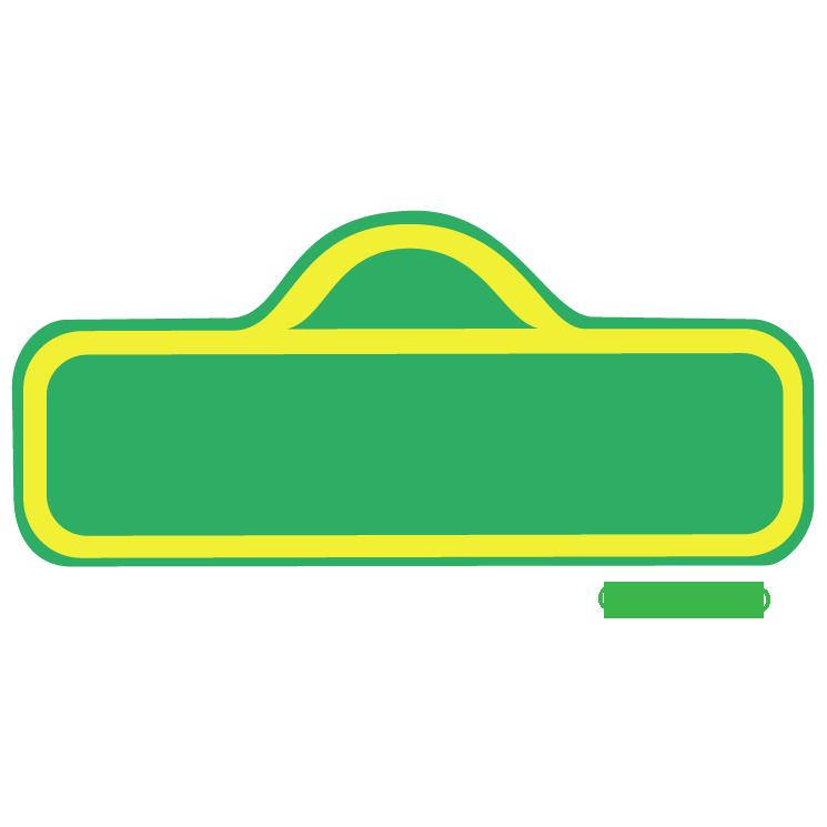 Sesame street Logos