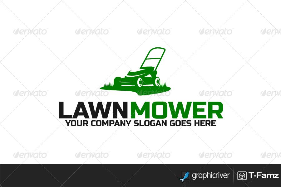 lawn mower logos rh logolynx com Tractor Logo Lawn and Landscape Logos