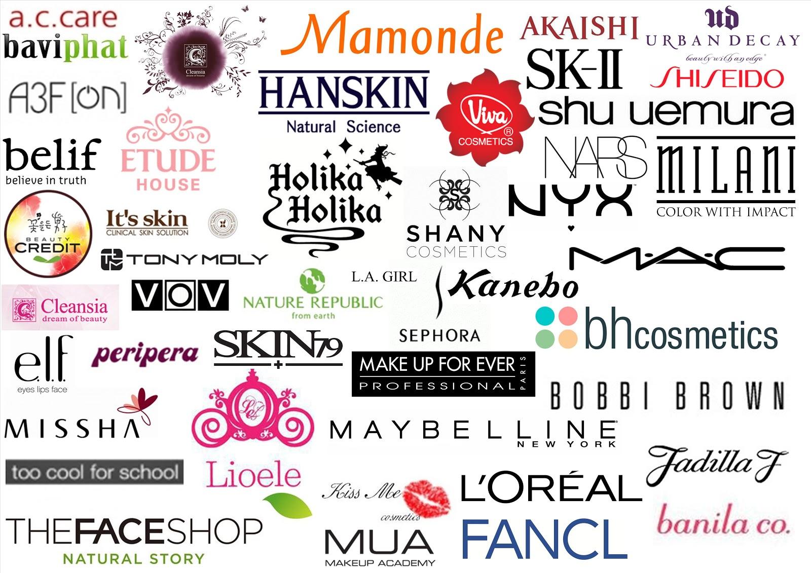 American Makeup Brand Logos Saubhaya