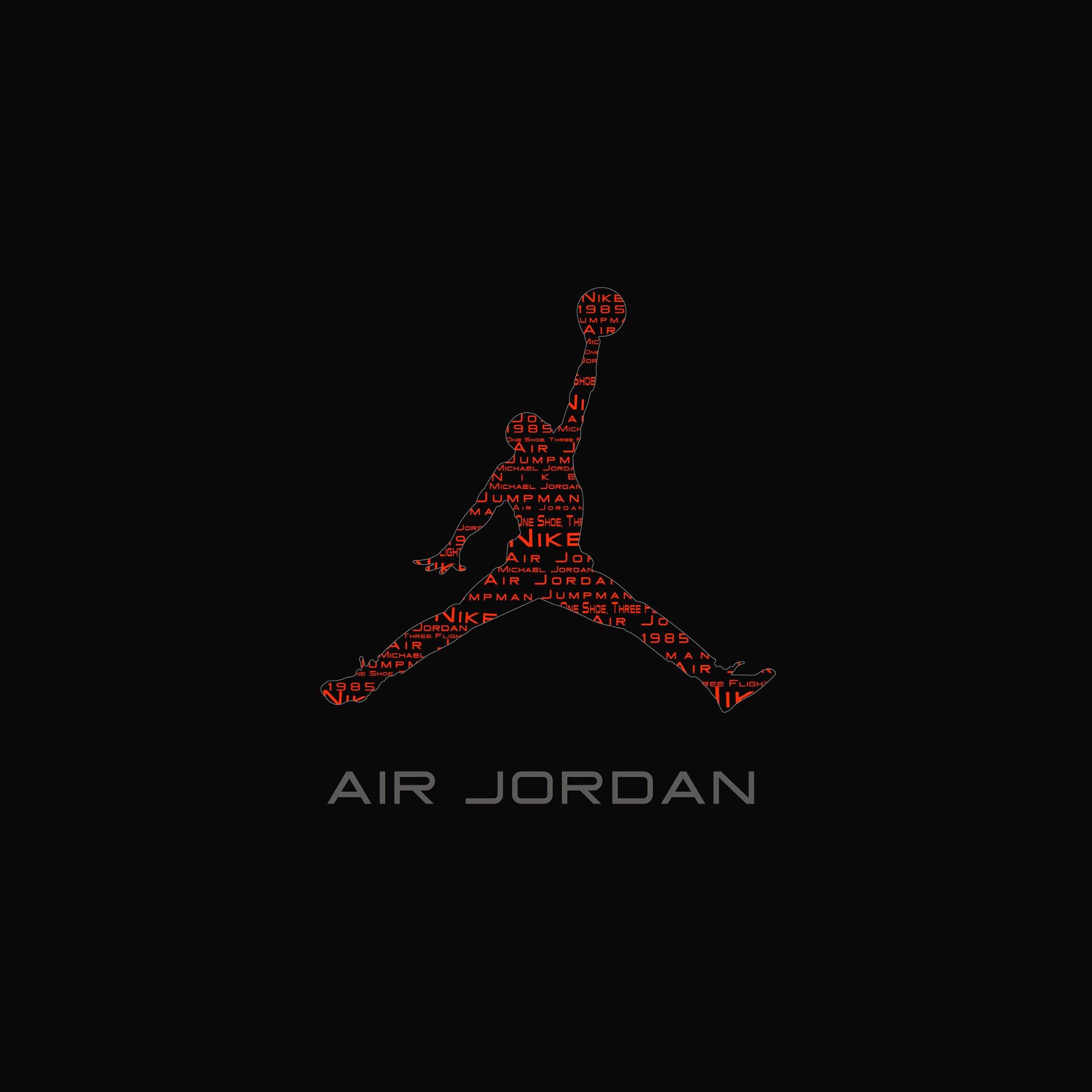 IOS7 Air Jordan Logo Par Ax HD IPhone IPad W Paper