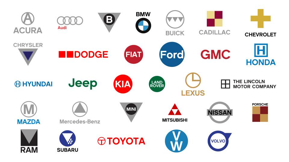 Four Circle Car Logos