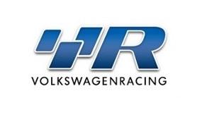 Volkswagen Racing Logo Sticker With Charcoal Gwentvw