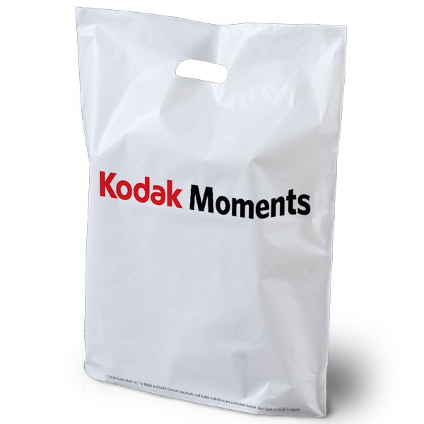 Kodak Medium Plastic Carrier Bags 100 Per Box Strong