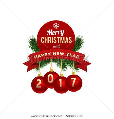 christmas and new year logos - Christmas Logos