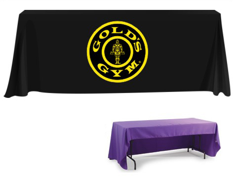 Custom Table Cloth With Logo Ed Throw