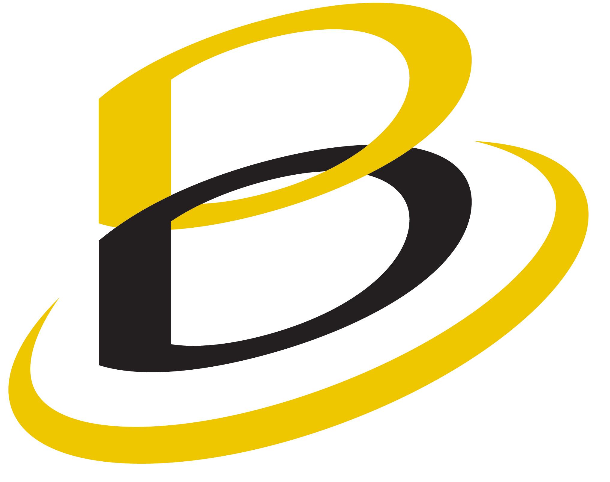 b logos