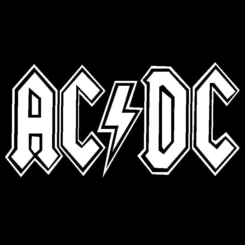Acdc Logo Drawing