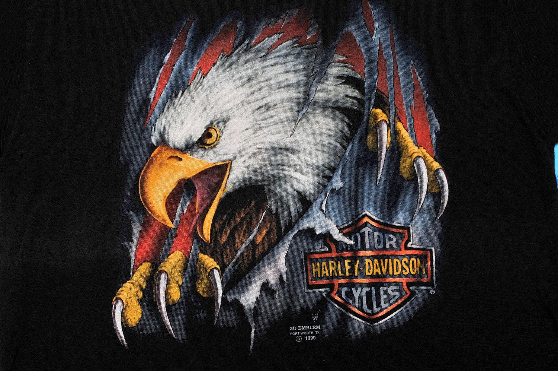 harley davidson eagle logos