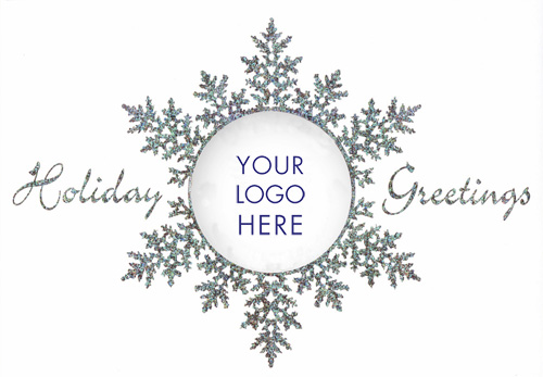 Business christmas cards with logos just released by design crafters new die cut and logo reheart Gallery