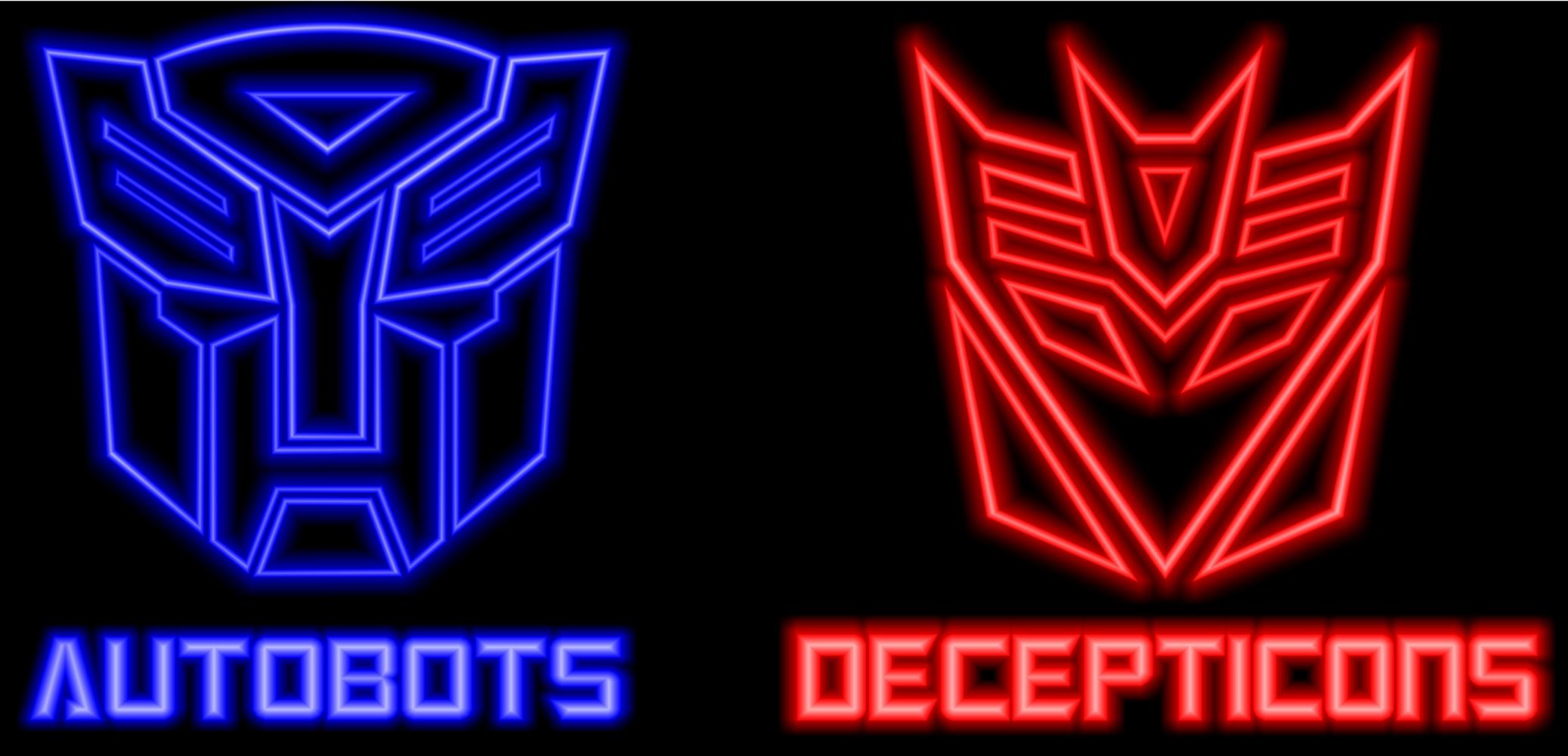 autobots and decepticons logos