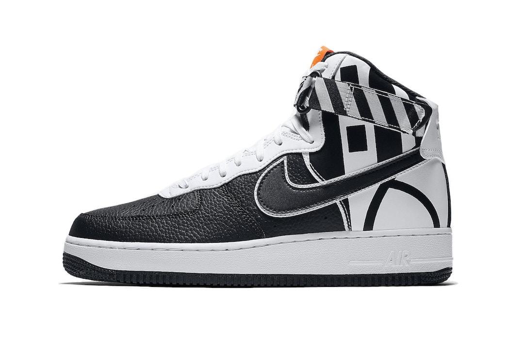 Nike Air Force 1 Logos