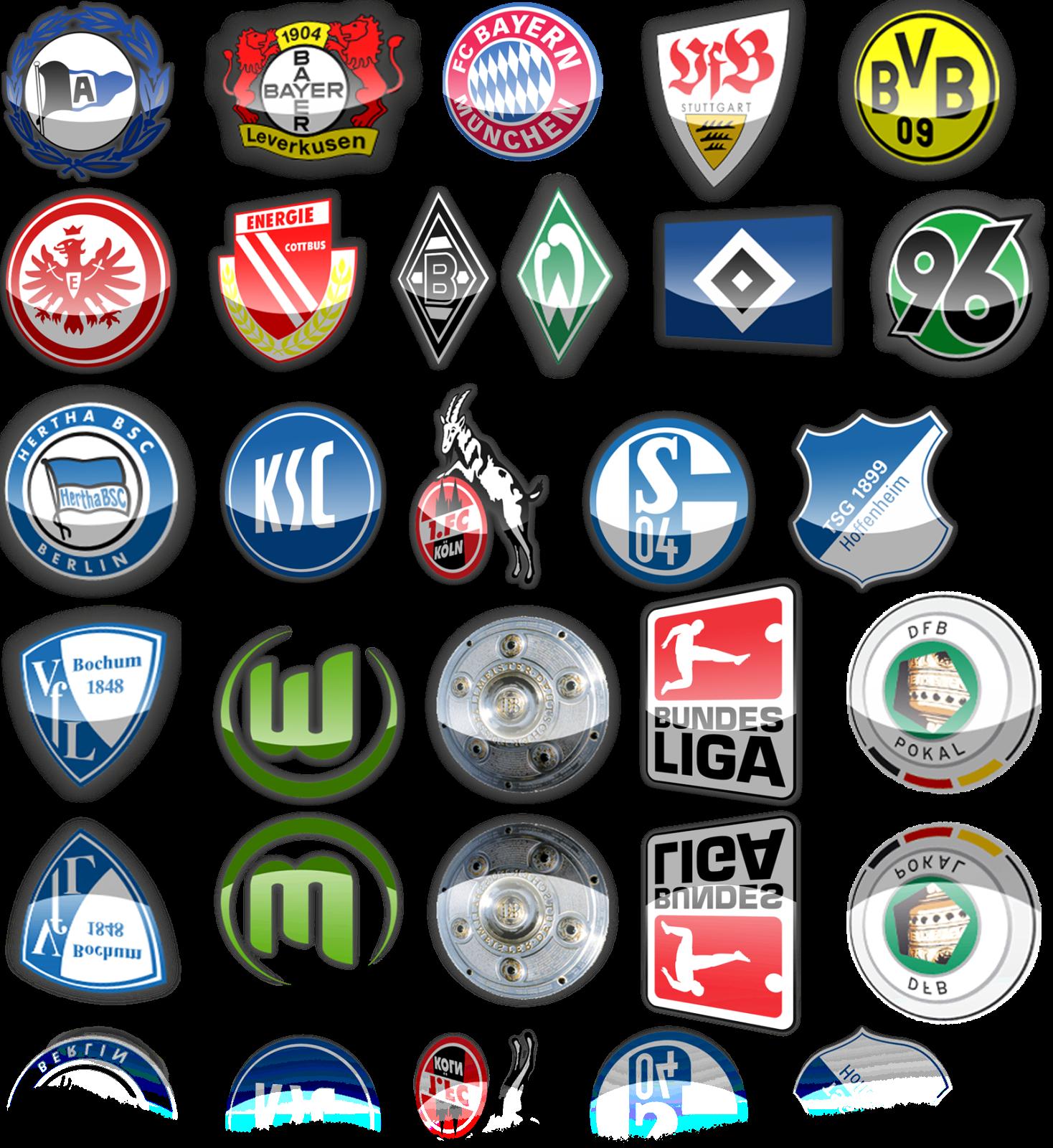 bundesliga logos bundesliga logos