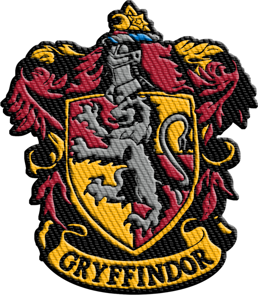 Harry Potter Gryffindor Iron On Patch Geek Baby