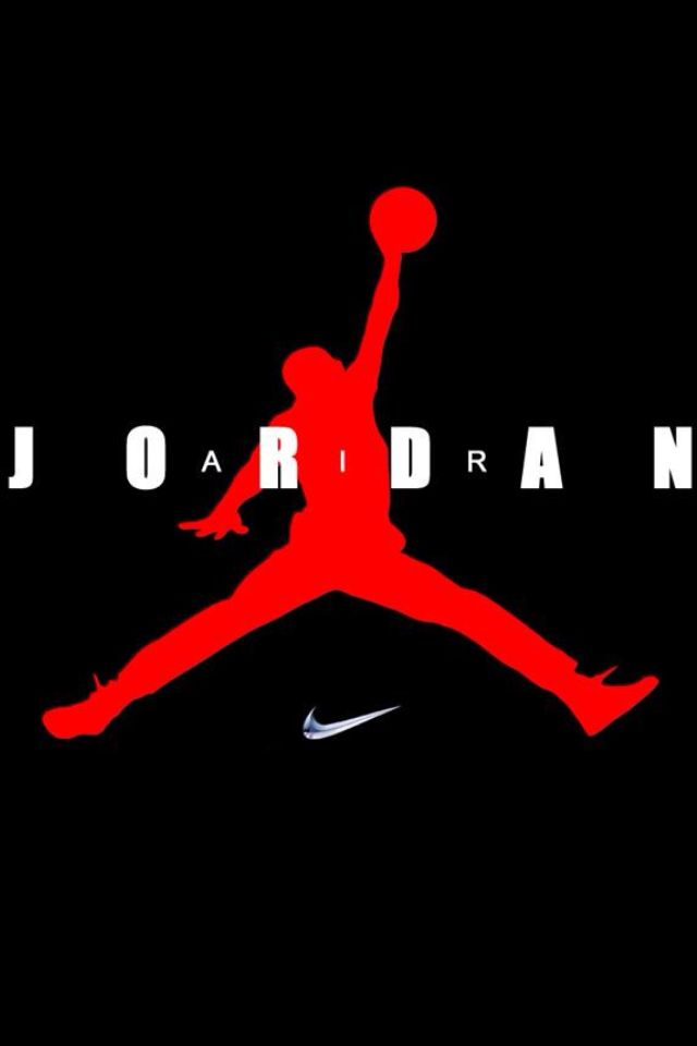 colorful jordan logos