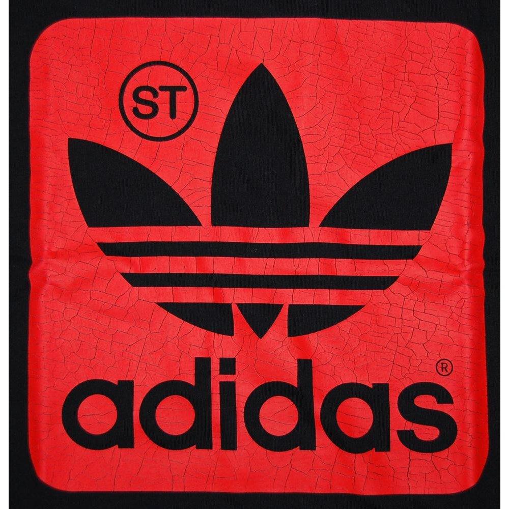 Red Adidas Logos -