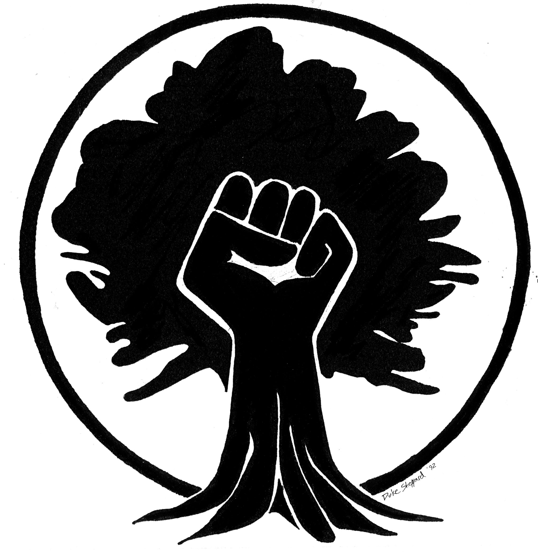 61b0f0733 Black power Logos