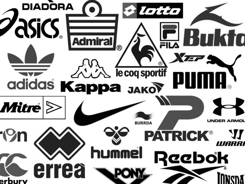 Sports Equipment Manufacturer Logos