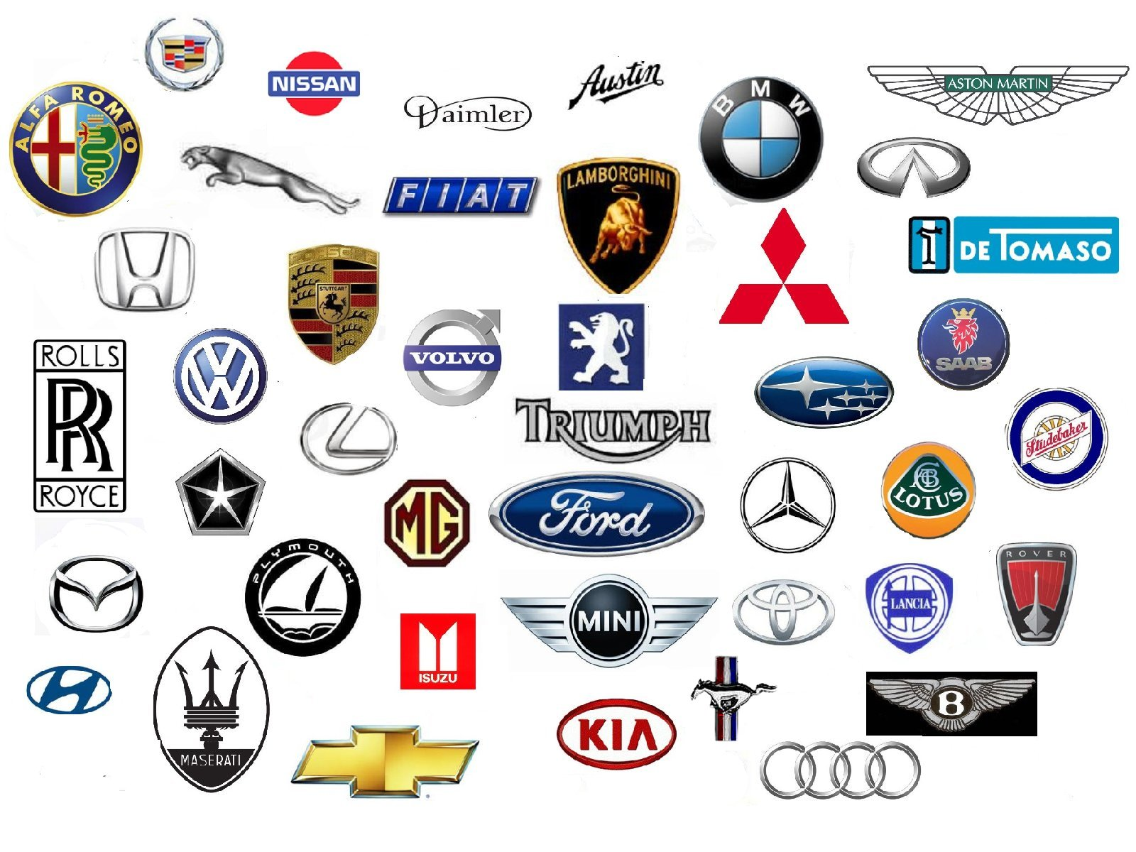 Car Brands Starting With L >> W Car Logos