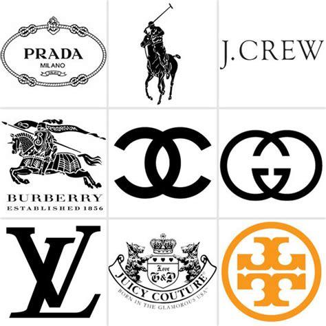 Famous fashion designers Logos