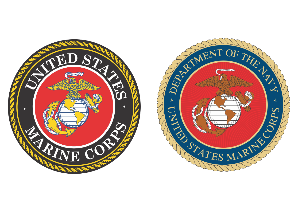 Us marine corps Logos