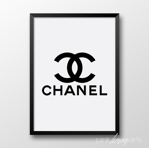 It's just a graphic of Printable Chanel Logo regarding coco chanel