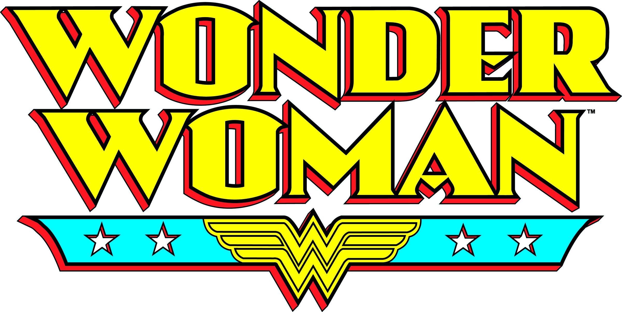 Wonder Woman Cartoon Logos