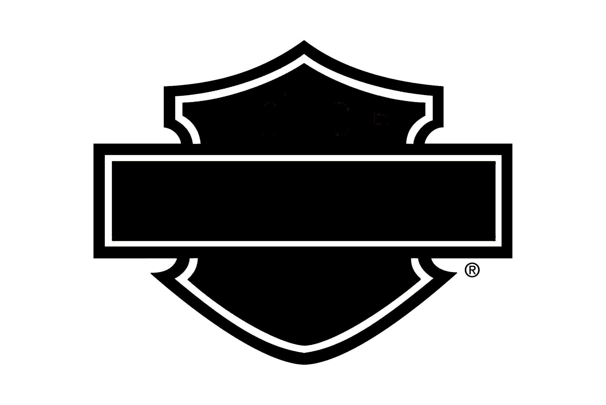 blank harley davidson logos