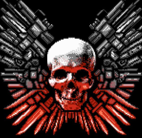 Camiseta Los Mercenarios The Expendables Logo T