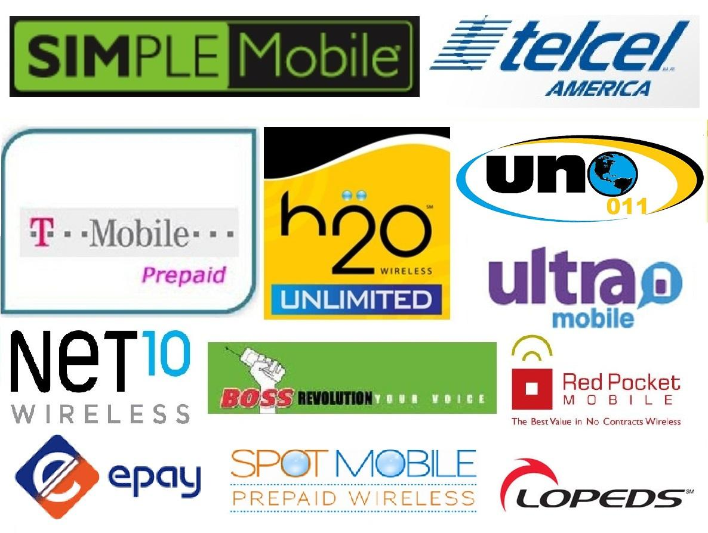 Simple mobile Logos