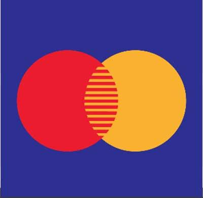 Red yellow blue circle Logos