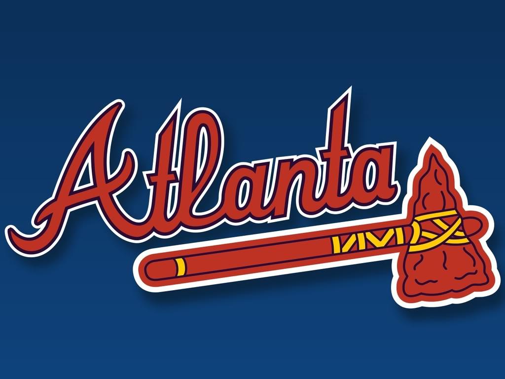 Atlanta Braves Hd Logo Wallpaper Wallpapers Book